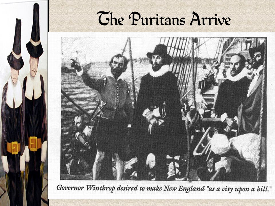 The Puritans Arrive