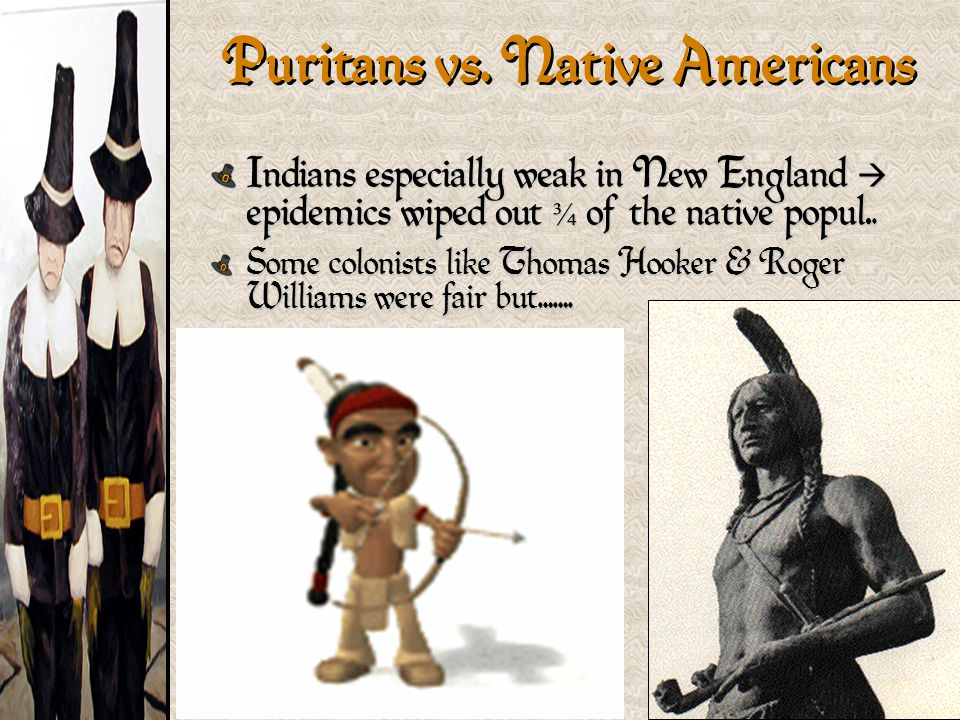 Puritans vs. Native Americans