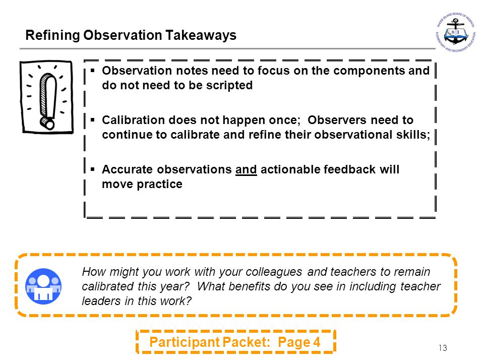 Refining Observation Takeaways