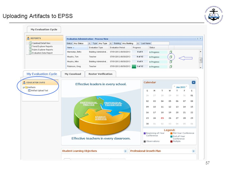 Uploading Artifacts to EPSS