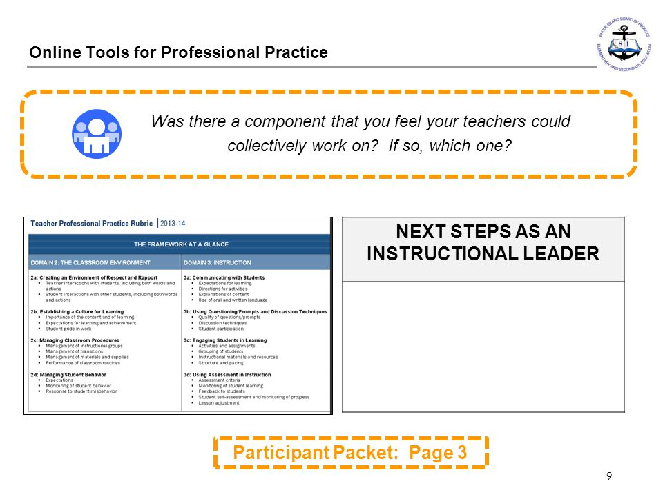 Online Tools for Professional Practice