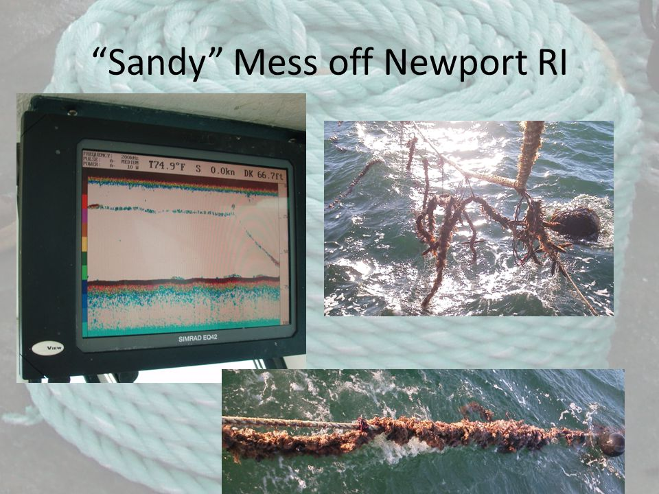 Sandy Mess off Newport RI