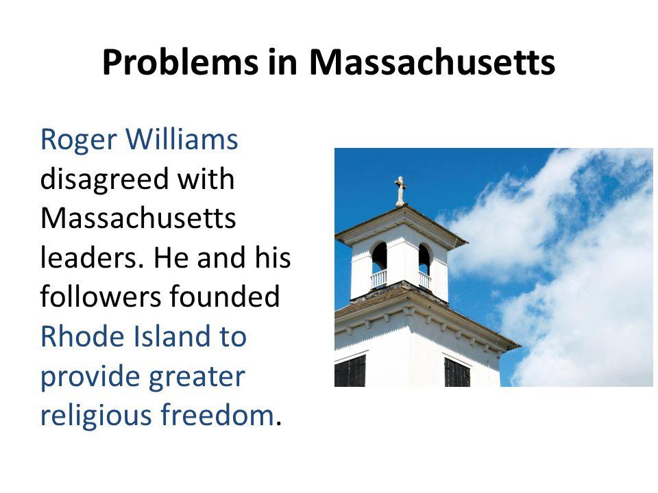 Problems in Massachusetts