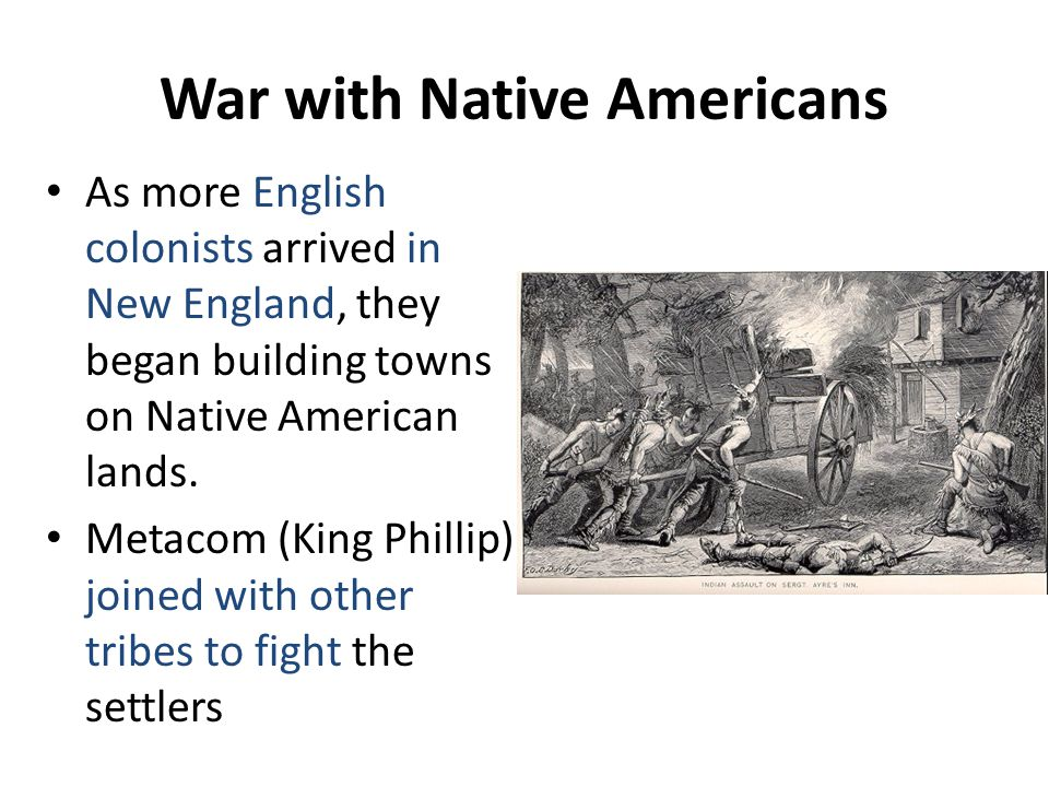 War with Native Americans