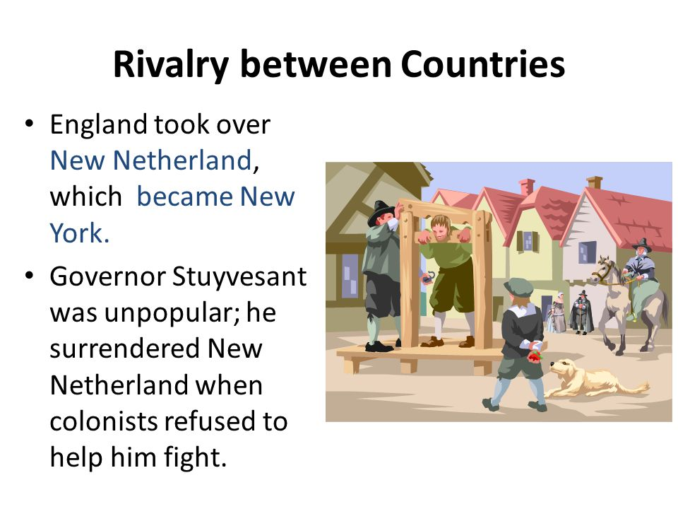 Rivalry between Countries