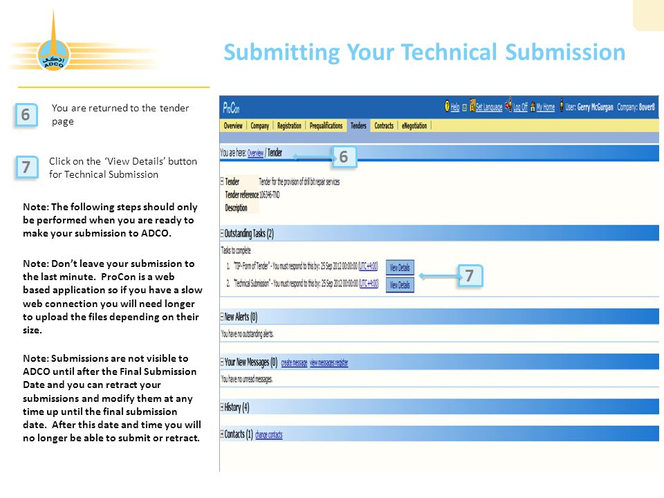 Submitting Your Technical Submission