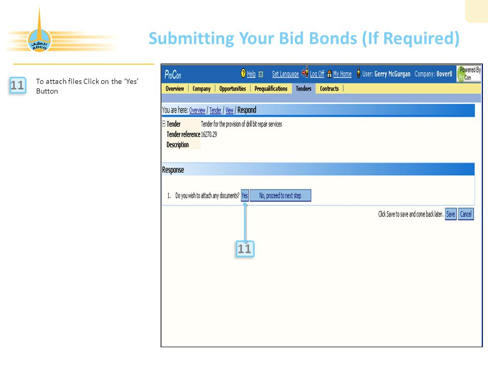 Submitting Your Bid Bonds (If Required)