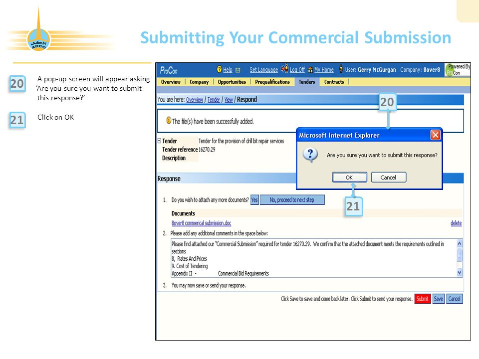Submitting Your Commercial Submission