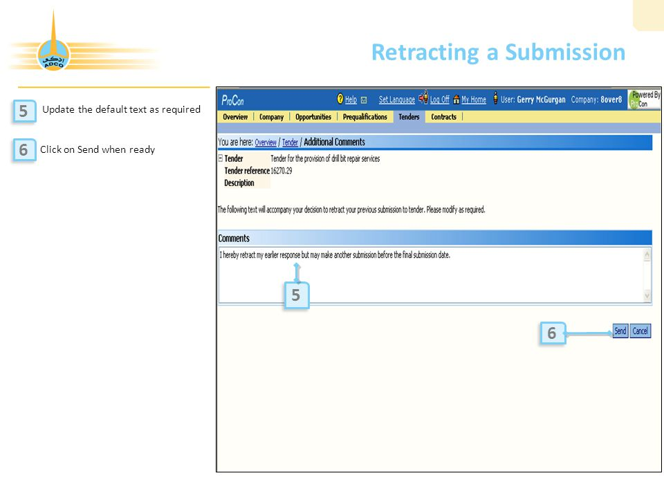 Retracting a Submission