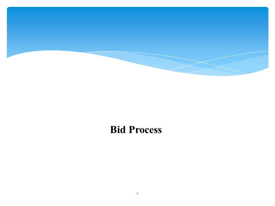 Bid Process 2