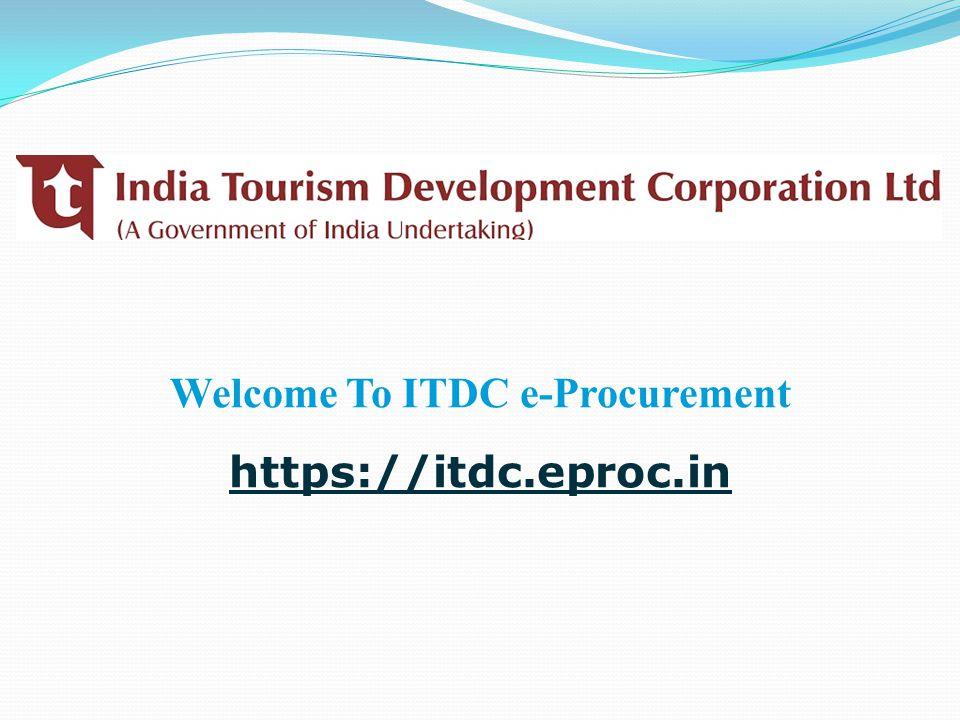Welcome To ITDC e-Procurement