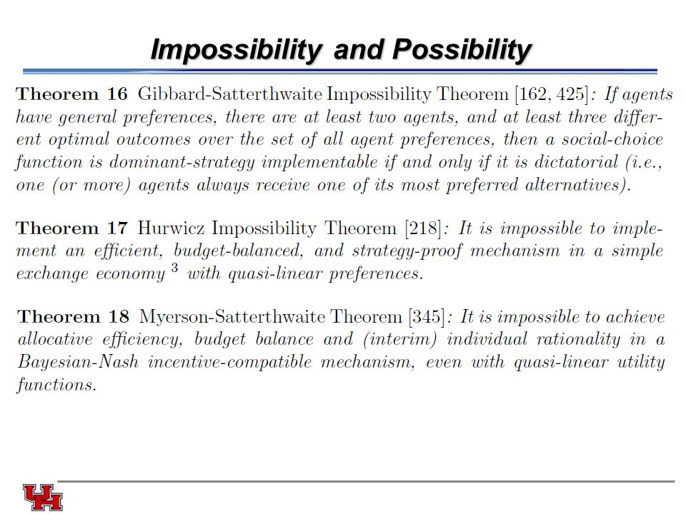 Impossibility and Possibility