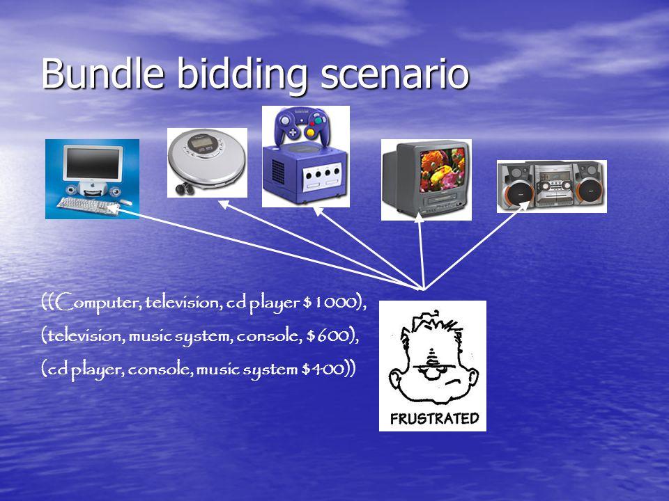 Bundle bidding scenario