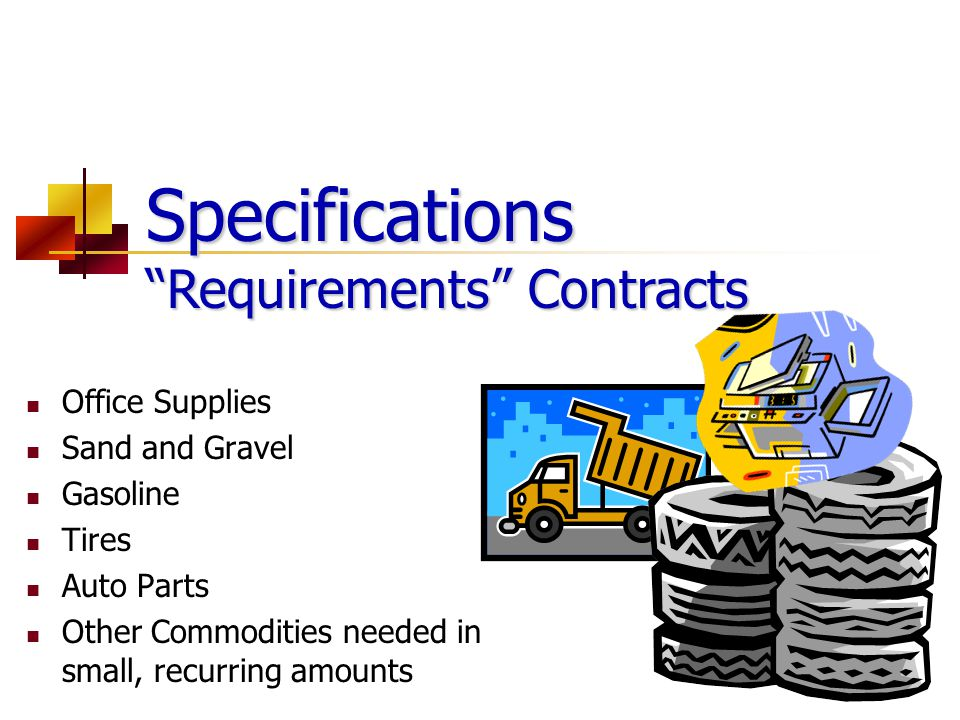 Specifications Requirements Contracts
