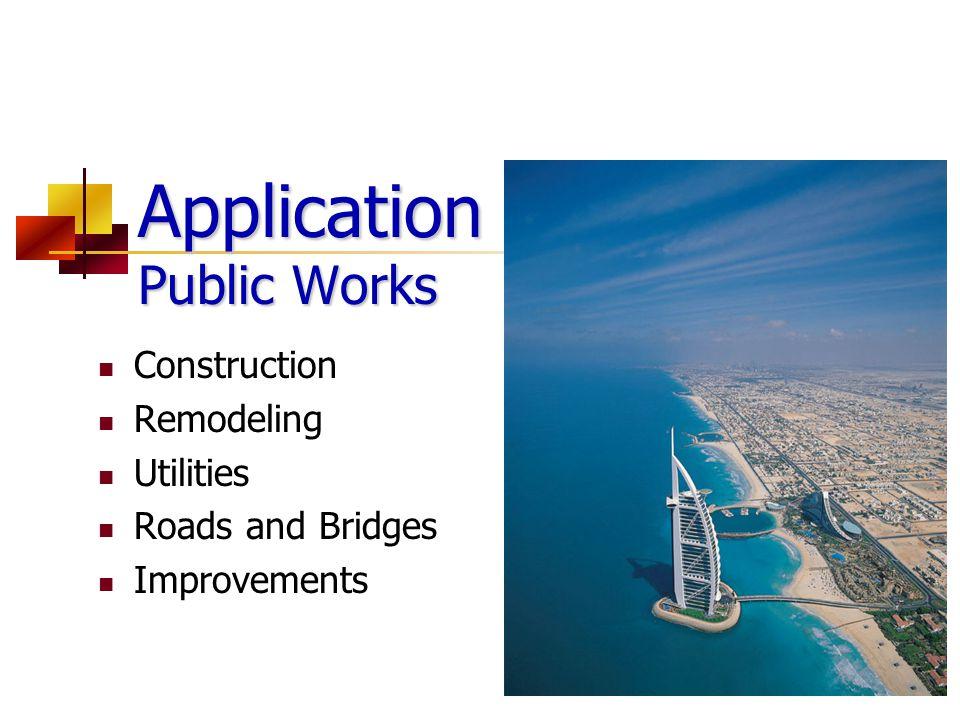 Application Public Works