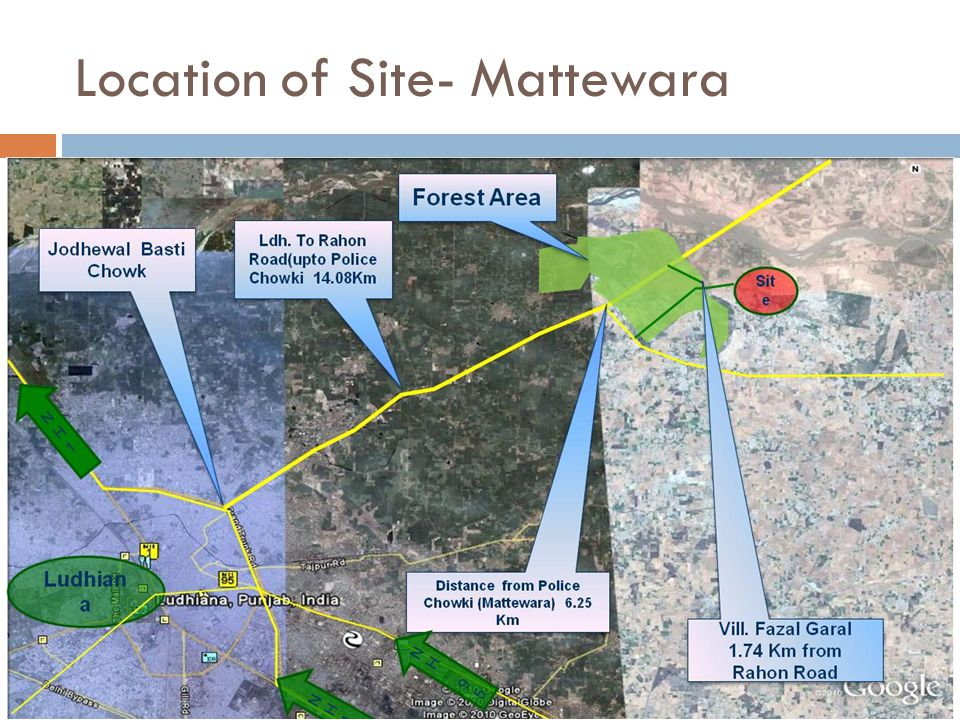 Location of Site- Mattewara
