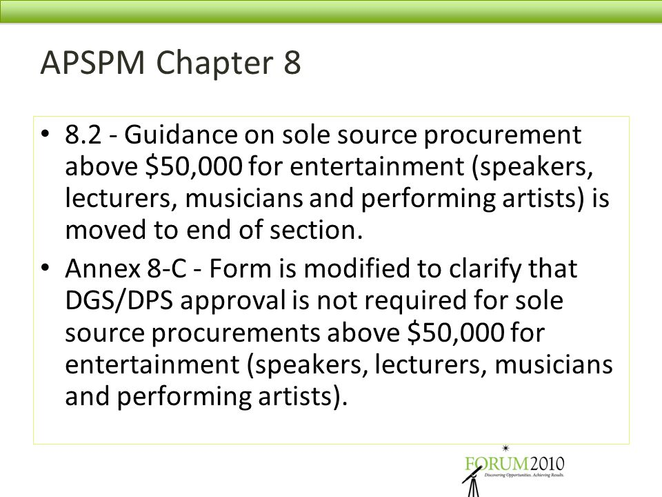 APSPM Chapter 8