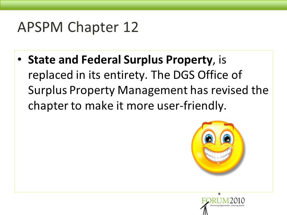 APSPM Chapter 12