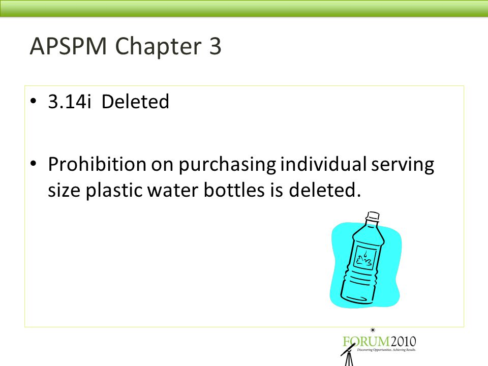 APSPM Chapter 3 3.14i Deleted