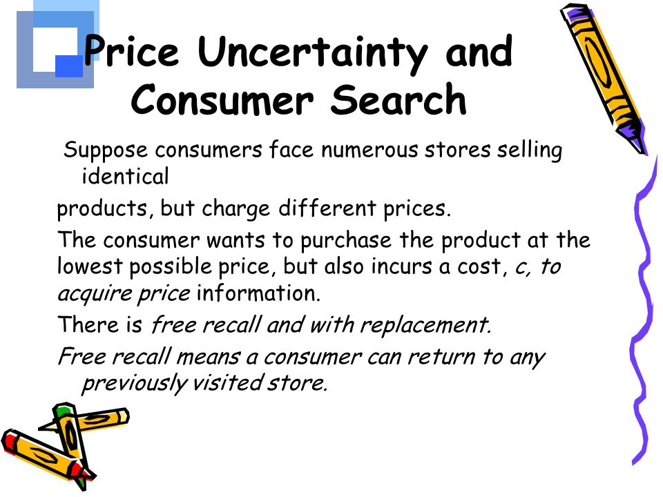 Price Uncertainty and Consumer Search