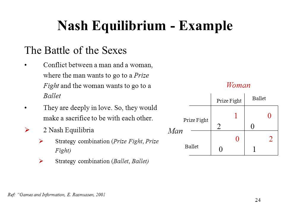 Nash Equilibrium - Example
