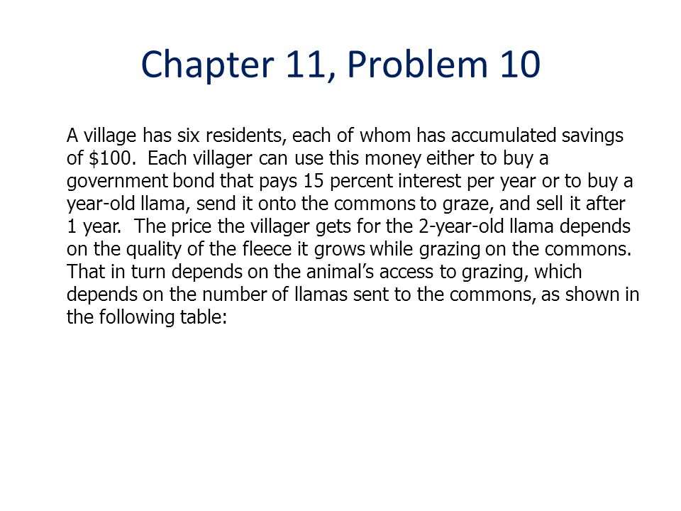 Chapter 11, Problem 10