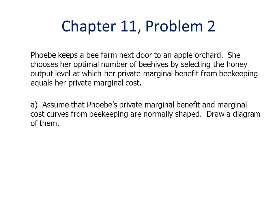 Chapter 11, Problem 2