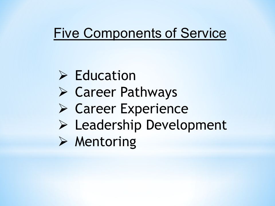 Five Components of Service