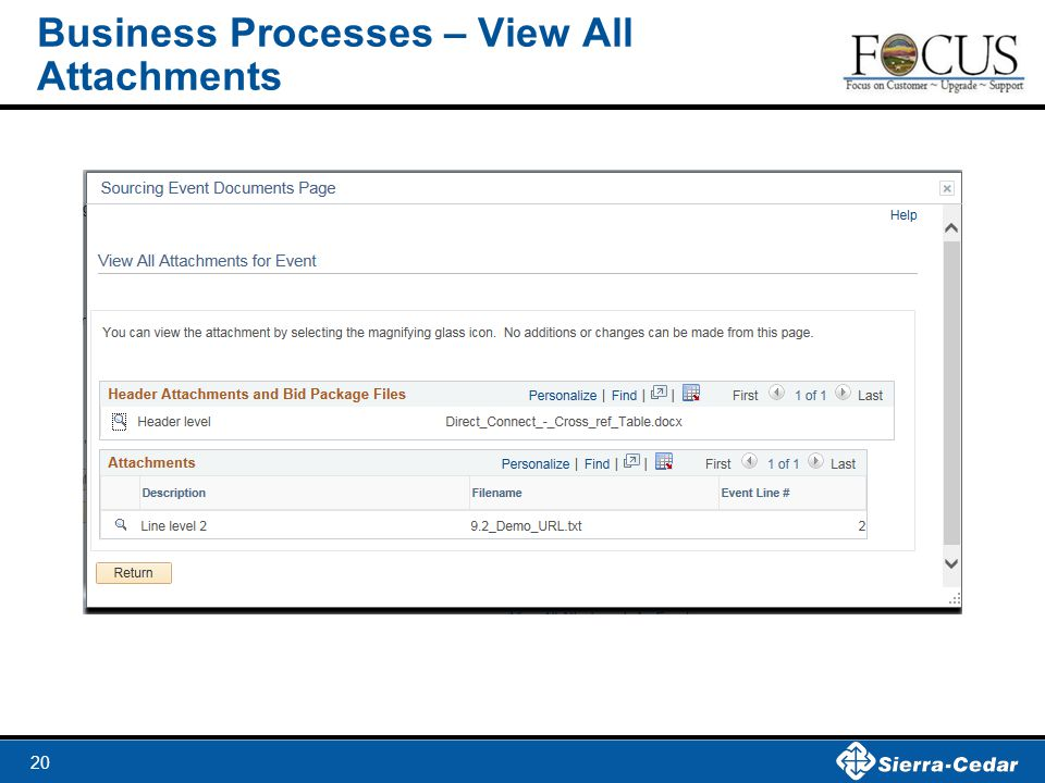 Business Processes – View All Attachments