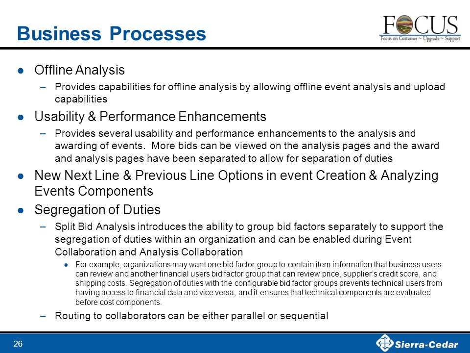 Business Processes Offline Analysis