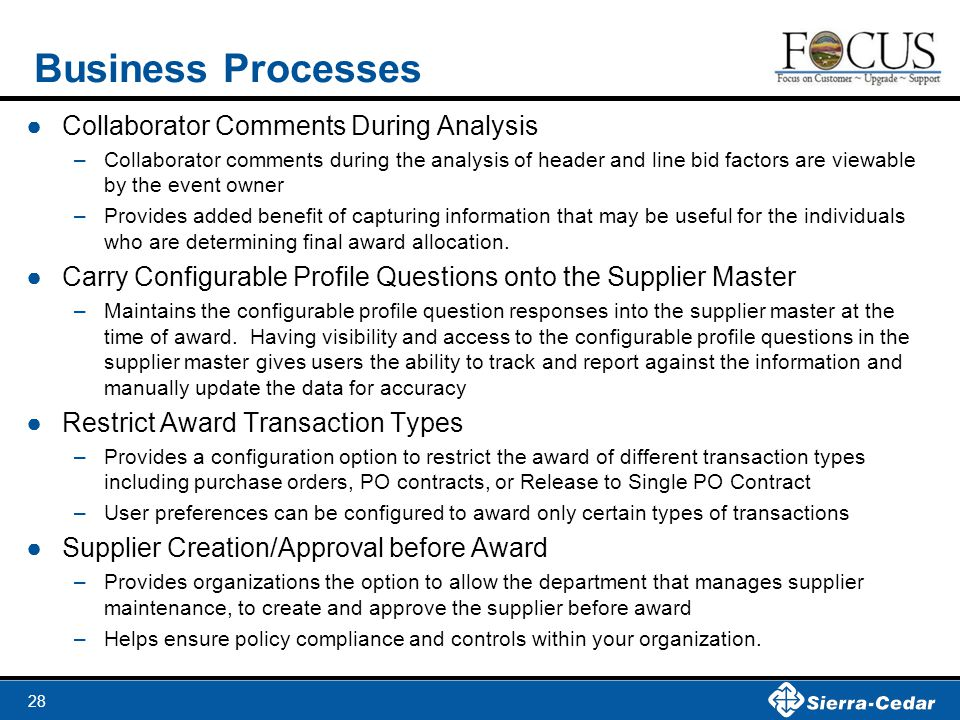 Business Processes Collaborator Comments During Analysis