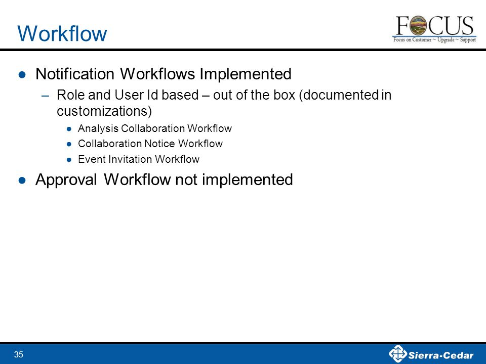 Workflow Notification Workflows Implemented