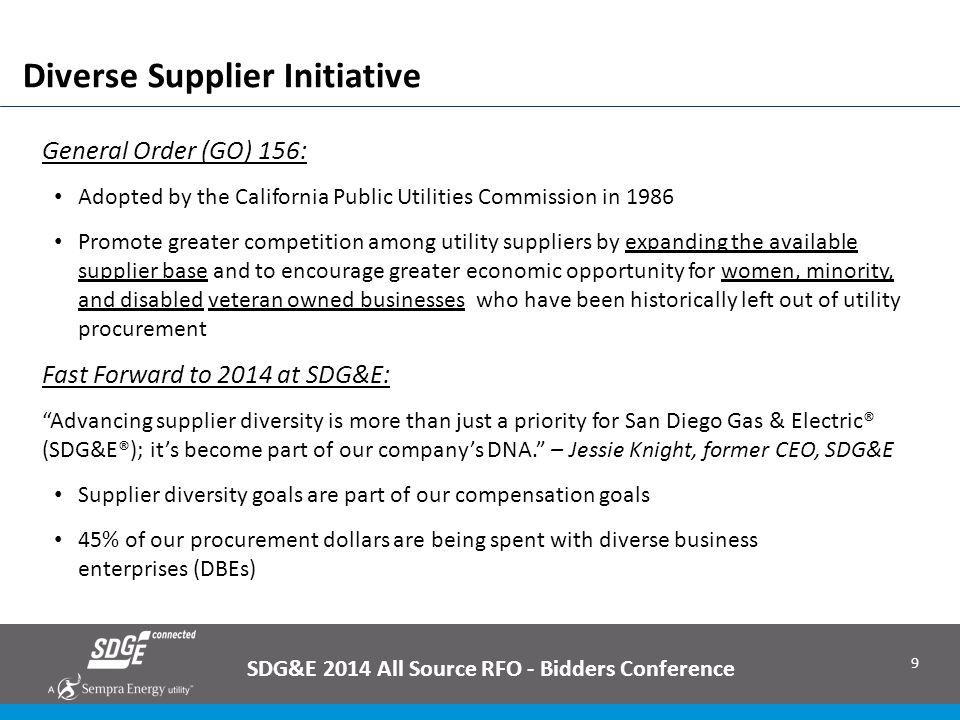 Diverse Supplier Initiative