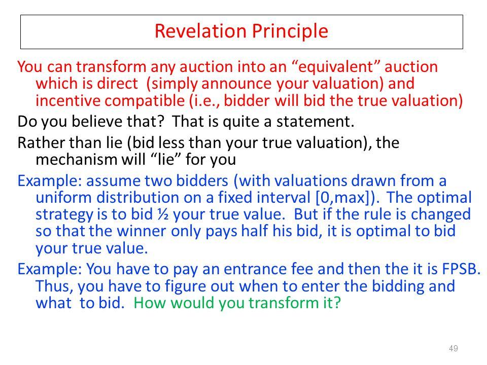 Revelation Principle