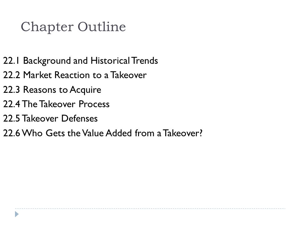 Chapter Outline 22.1 Background and Historical Trends