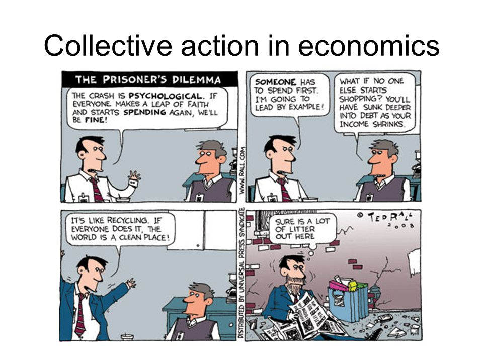 Collective action in economics