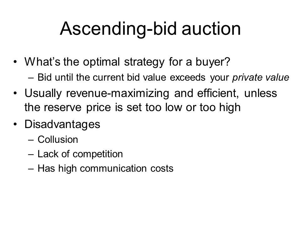 Ascending-bid auction