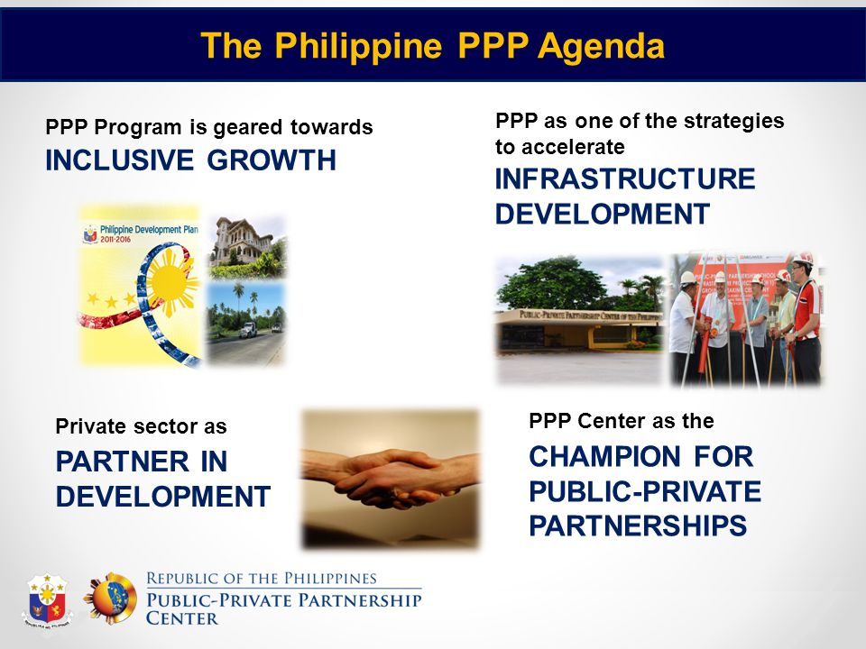 The Philippine PPP Agenda
