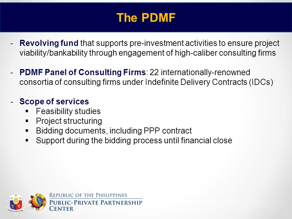 The PDMF