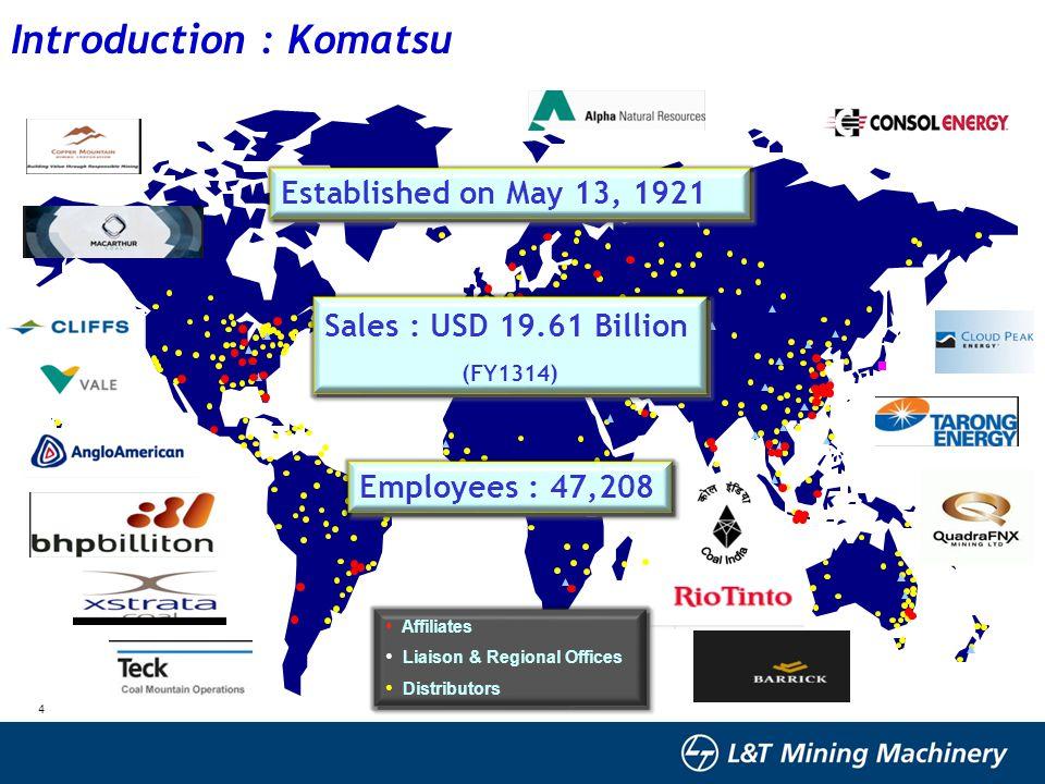 Introduction : Komatsu