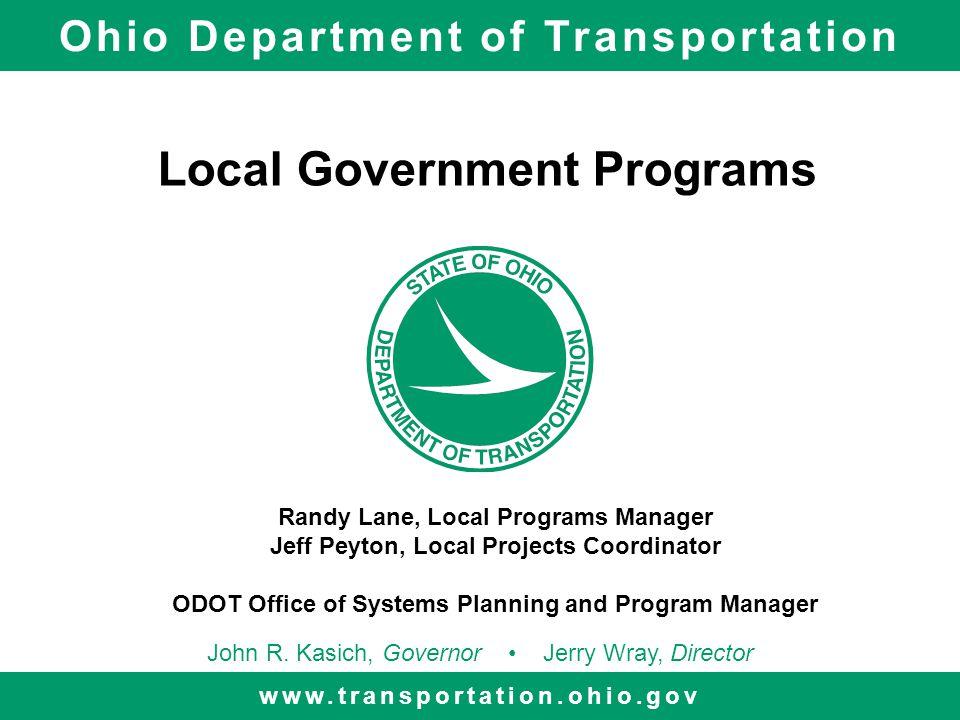 Local Government Programs