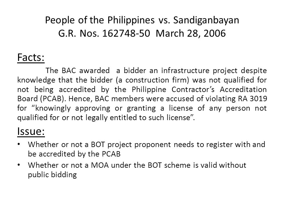 People of the Philippines vs. Sandiganbayan G. R. Nos