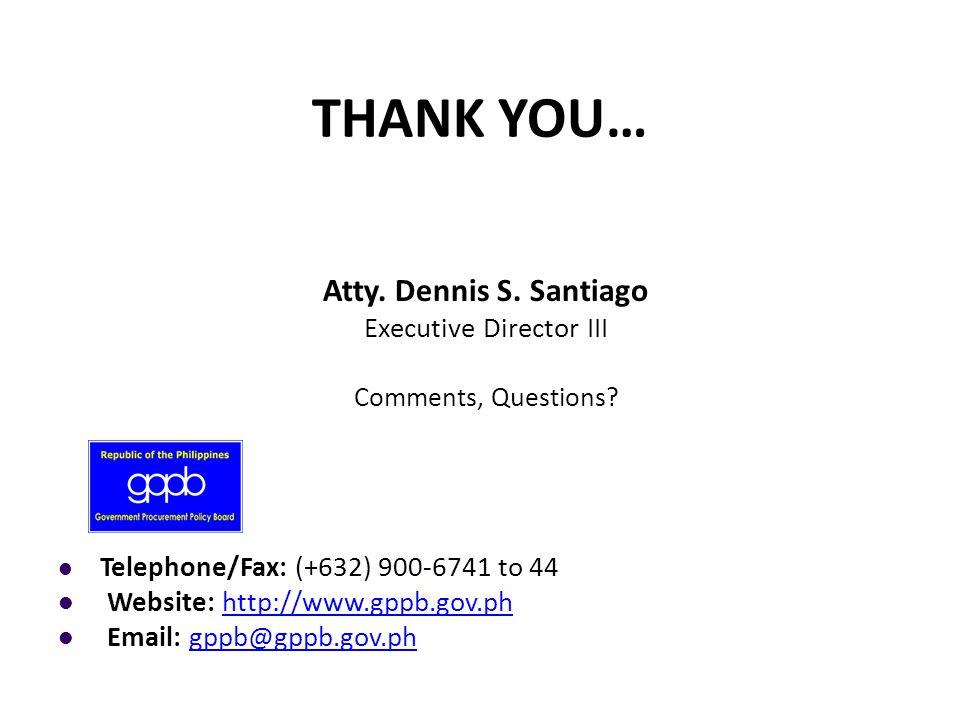 Executive Director III