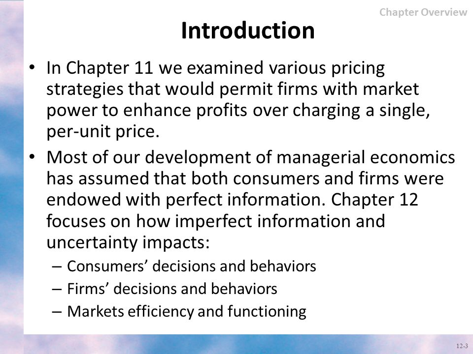 Chapter Overview Introduction.