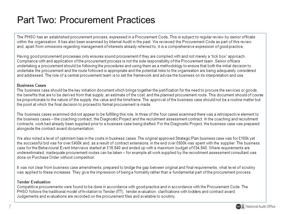 procurement audit and investigation pdf