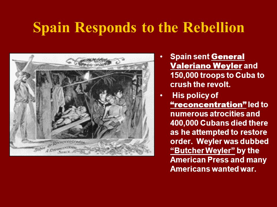 Spain Responds to the Rebellion