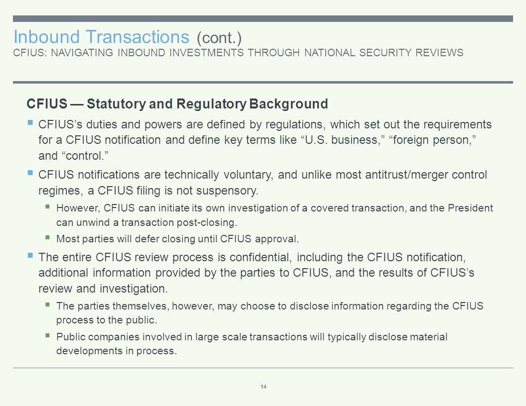 Inbound Transactions (cont