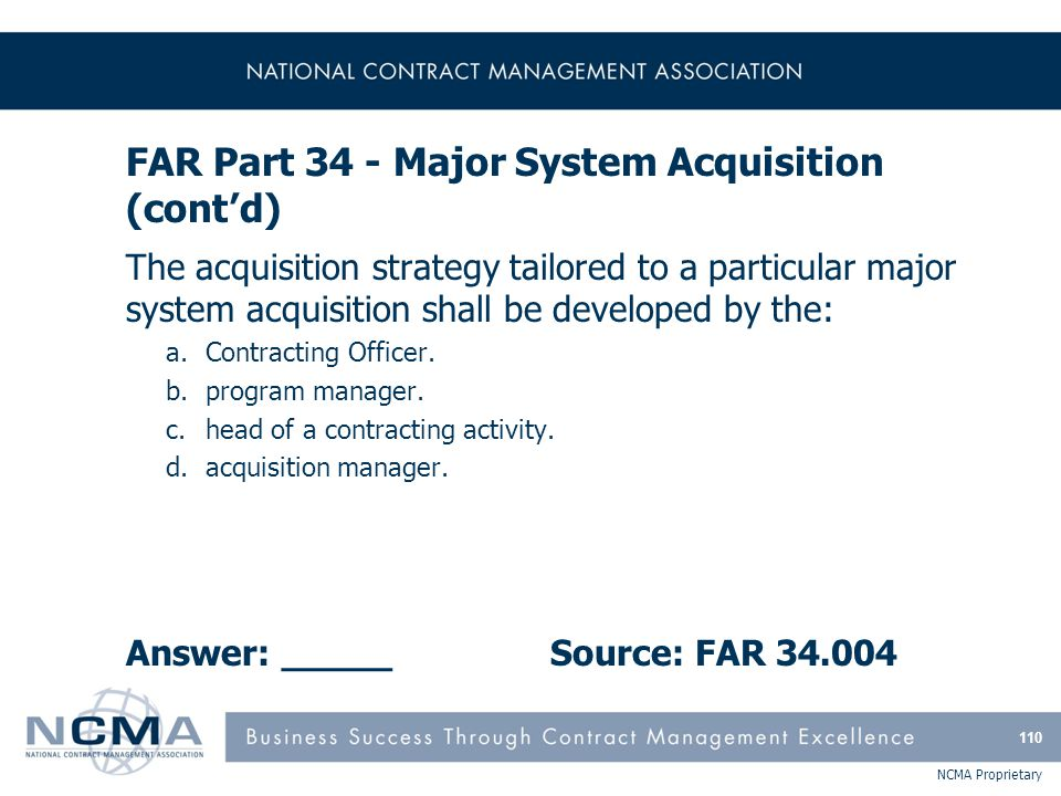 FAR Part 35 - Research and Development Contracting