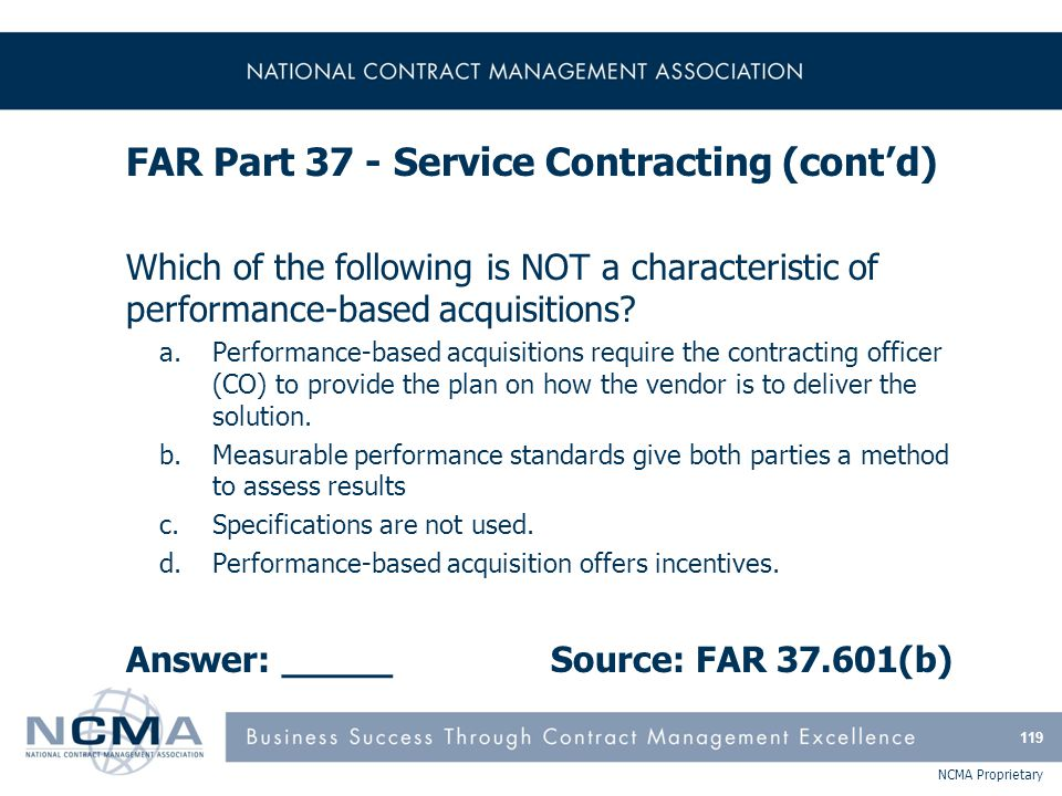 FAR Part 38 - Federal Supply Schedule Contracting