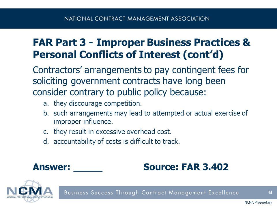 FAR Part 4 - Administrative Matters